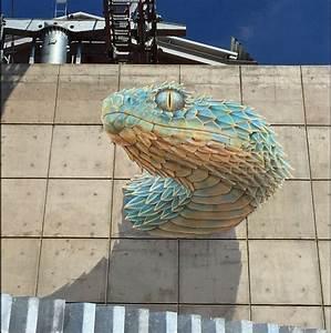Image Trompe L Oeil : file quetzalcoatl trompe l 39 oeil mural by john ~ Melissatoandfro.com Idées de Décoration