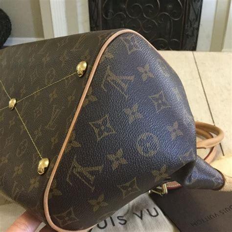 louis vuitton tivoli gm date code mb   france monogram canvas  leather shoulder bag