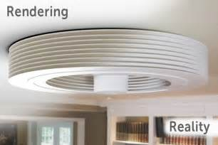 this exhale bladeless ceiling fan is inspired from tesla home harmonizing