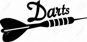 Darts Clipart Black And White  Darts Black And White