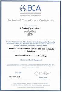 Eca Membership Compliance Certificate