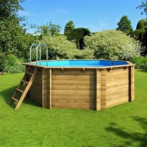Piscine Hors Sol Chauffée : piscine hors sol bois tropic proswell ~ Mglfilm.com Idées de Décoration