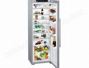 Refrigerateur 1 Porte Noir : liebherr kpesf4220 pas cher r frig rateur 1 porte ~ Dailycaller-alerts.com Idées de Décoration