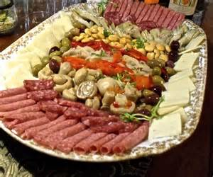 Italian Vegetable Antipasto Platter
