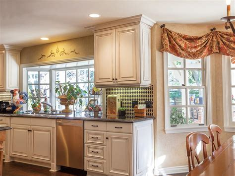 contemporary kitchen window treatments hgtv pictures