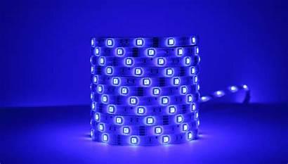 Led Strip Lights Remote Meter Multicolor Lighting