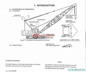 Crawler Crane Components Diagram