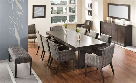 contemporary solid wood dining table chairs