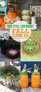 High, Style, Low, Budget, Fall, Decorating, Ideas