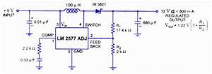 Switching Regulators Using Lm 2575 And Lm 2577