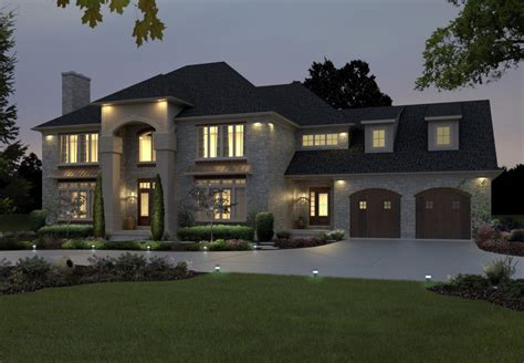 Classic Modern House Design Large