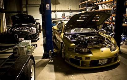 Supra Toyota Engine Tuning Garage Dream Wallpapers