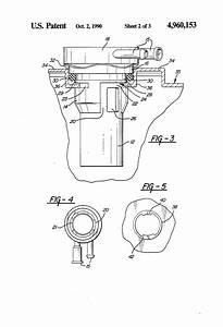 Patent Us4960153 - Fuel Tank Vapor Vent Valve