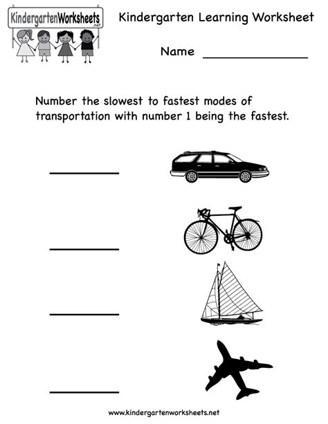 14 best images of science worksheets for kindergarten 821 | kindergarten social studies worksheets 71224