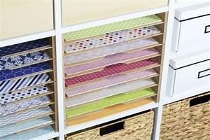 Kallax Regal Bett : geniales storage f r scrapbook und kunstpapier im ikea regal new swedish design ~ Watch28wear.com Haus und Dekorationen