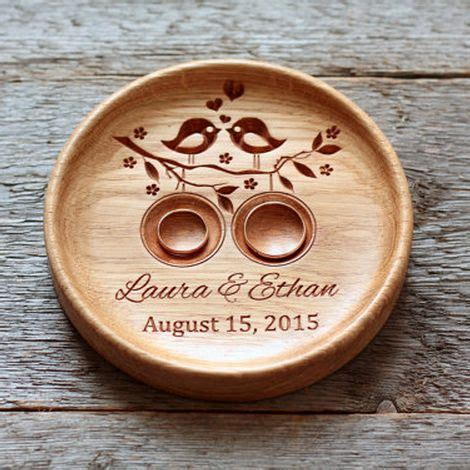 17 best ideas about ring holders on wood
