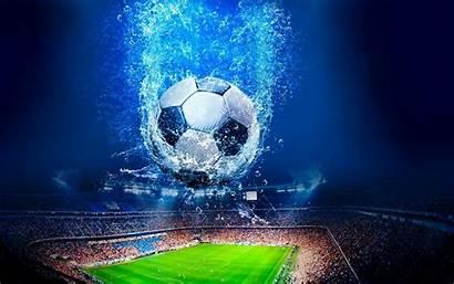 Stadium Soccer Background