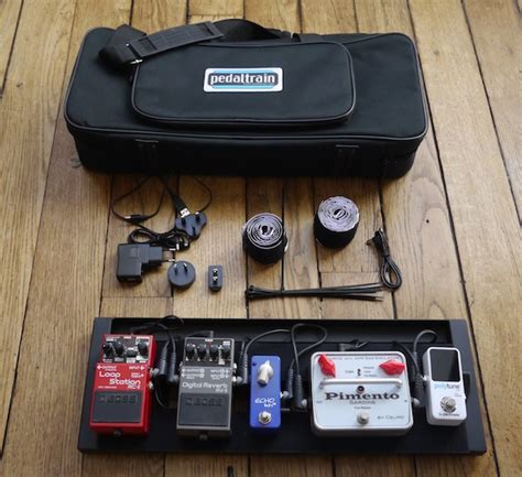 pedaltrain mini powered by the volto lose the power cable