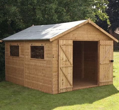 12 x 10 shiplap tongue and groove workshop shed - Shiplap Or Tongue And Groove Shed