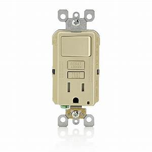 Leviton 15 Amp Smartlockpro Combination Gfci Outlet And