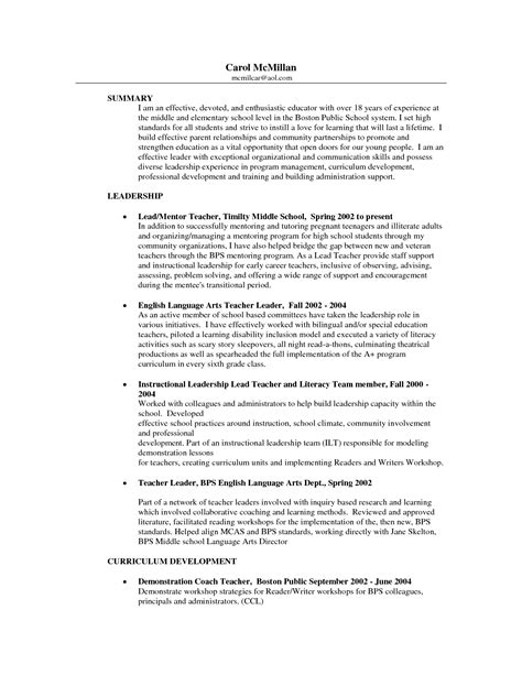 Groupon Resume Writing Canada by Primary School Teachers Resume Sales 28 Images Bilingual Resume Sales Lewesmr Enseignant De