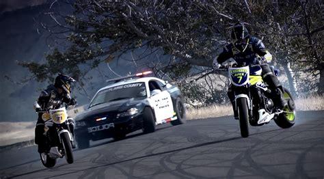Motorcycle Drifting, Part 2.