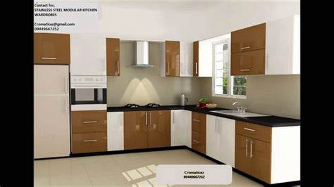 Modular Kitchen Cabinets Price by Stainless Steel Finish Aluminium Kitchen Low Cost Call
