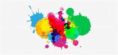 Splatter Paint Splash Background 4k Ink Cartoon