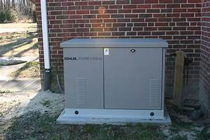 Kohler 20kw Generator With An Aluminum Enclosure Installed