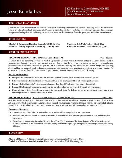 comprehensive resume sle