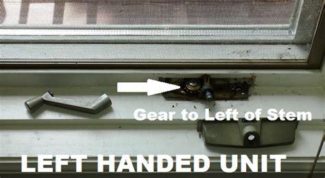crestline style casement operator crank roto gear style crank unit