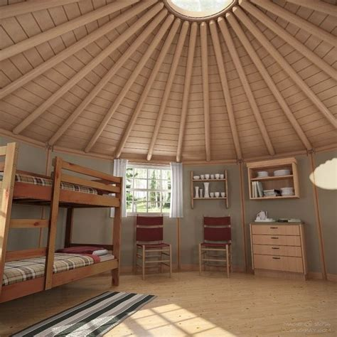 two bedroom cabin floor plans freedom yurt cabins the 39 contemporary 39 nomadic shelters