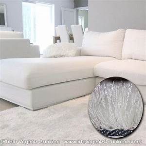 Tapis Salon Blanc : tapis shaggy blanc acheter un tapis de salon shaggy arte ~ Teatrodelosmanantiales.com Idées de Décoration