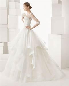 rosa clara wedding dress 2014 bridal cazorla onewedcom With rosa clara wedding dresses