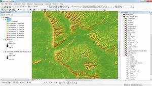 Creating A Slope Map From Aster Dem Arcgis