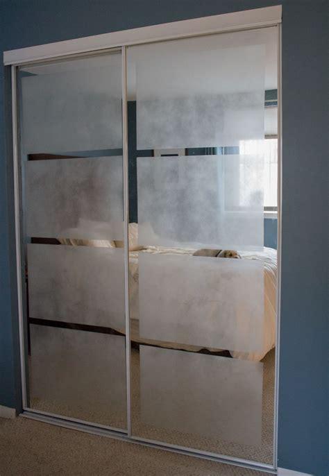 mirrored sliding closet doors bedroom without closet