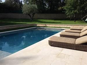 piscines avec plages en bois bouc bel air 13100 With piscine en pierre naturelle