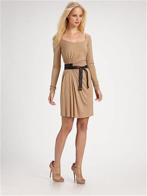 bailey  leather belt dress snob essentials