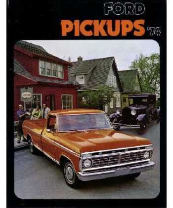 ford   truck sales brochure