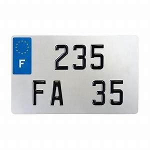 Plaque D Immatriculation Norauto : plaque d 39 immatriculation alu ancien num ros faab pour ~ Dailycaller-alerts.com Idées de Décoration