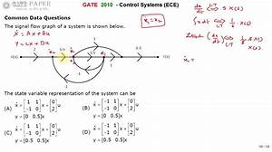 Gate 2010 Ece State Variable Representation Of Given