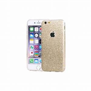 Coque Iphone 6 : coque silicone souple paillettes or pour iphone 6 6s ~ Teatrodelosmanantiales.com Idées de Décoration