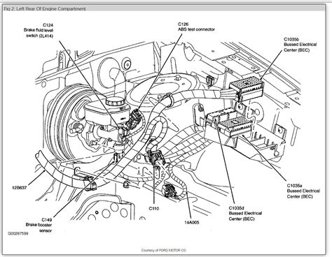 1992 Ford E350 Transmission Diagram by 2005 Ford Freestyle Parts Diagram Door Wiring Diagram