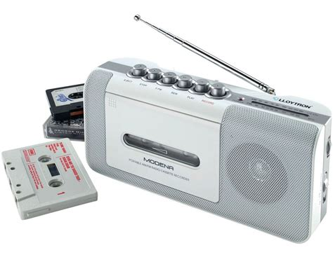 Radio Cassette Recorder by Portable Radio Cassette Media Recorder Player