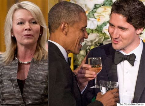 candice bergen question period trudeau just wanted pat on the head from obama tory mp says
