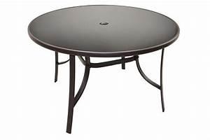 Runder Tisch 70 Cm : gartentisch glasplatte mit schirmloch bistrotisch glastisch 120 cm runder tisch kaufen bei ~ Markanthonyermac.com Haus und Dekorationen