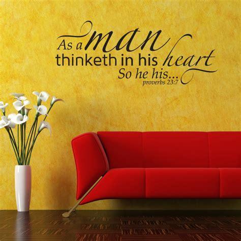 proverbs  scripture wall decor decal   man