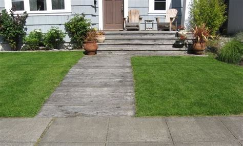 seattle garden ideas walkway and driveway materials