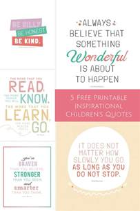 hello wonderful 5 free printable inspirational children 39 s quotes