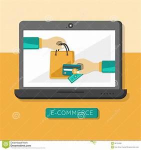 Design Online Shop : flat design concept with icons of e commerce ideas symbol ~ Watch28wear.com Haus und Dekorationen
